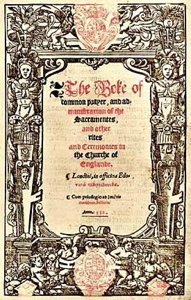 The 1552 Book of Common Prayer