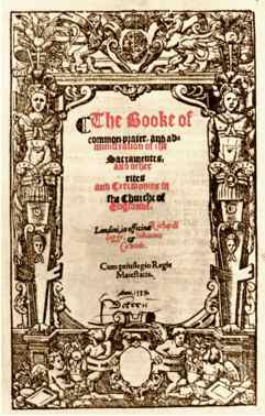 The 1559 Book Of Common Prayer