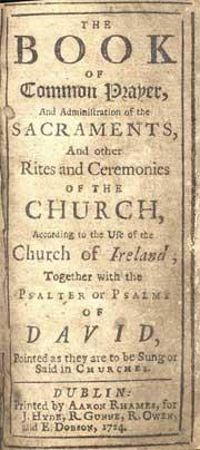 Solemnization matrimony anglican book common prayer dating 1662