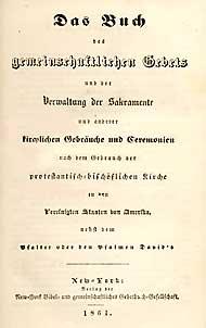 Book of common prayer german translation