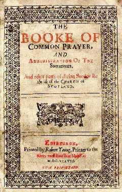 The 1637 Scottish Book of Common Prayer